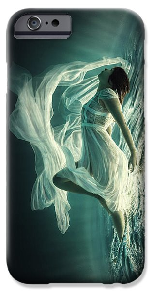 Teal iPhone 6s Case - Renaissance by Dmitry Laudin