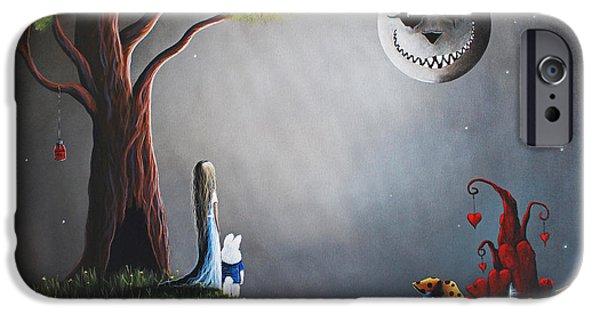 Castle iPhone 6s Case - Alice In Wonderland Original Artwork by Erback Art