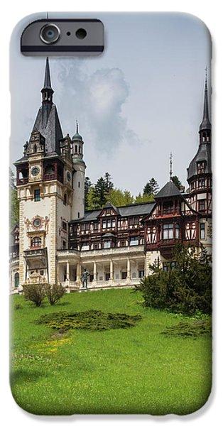 Pele iPhone 6s Case - Romania, Transylvania, Sinaia, Peles by Walter Bibikow