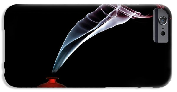 Perfume iPhone 6s Case - Smokin' In Red by Renee Doyle