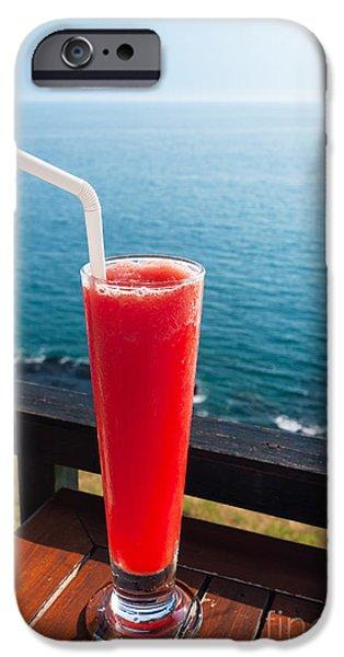 Smoothie iPhone 6s Case - Strawberry Smoothie Soda by Atiketta Sangasaeng