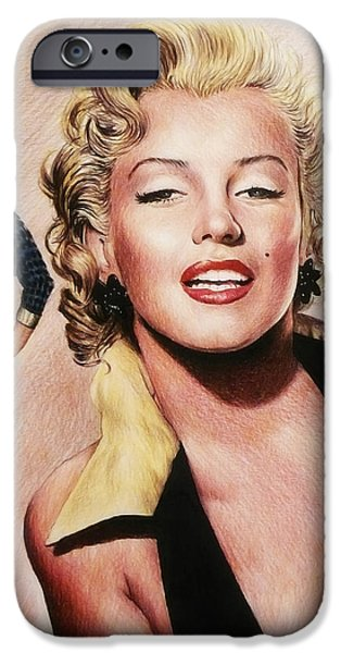 The Glamour Days Marilyn Monroe IPhone 6s Case by Andrew Read