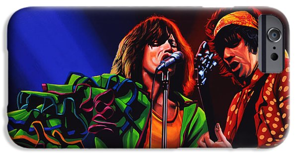 Musicians iPhone 6s Case - The Rolling Stones 2 by Paul Meijering