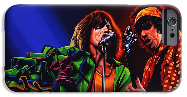 Rock And Roll iPhone 6s Case - The Rolling Stones 2 by Paul Meijering