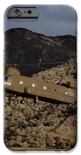 Helicopter iPhone 6s Case - Usa, California, Chinook Search by Gerry Reynolds