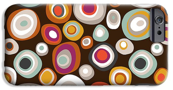 Veneto Boho Spot Chocolate IPhone 6s Case by Sharon Turner