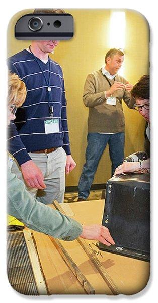 Volunteers Making Bat Houses IPhone 6s Case by Jim West
