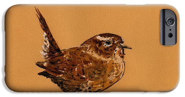 Wren Bird IPhone 6s Case by Juan  Bosco