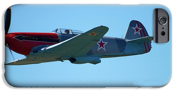 Yak iPhone 6s Case - Yakovlev Yak-3 - Wwii Russian Fighter by David Wall