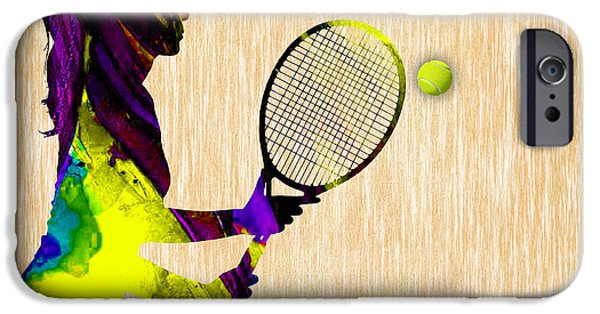 Tennis IPhone 6s Case by Marvin Blaine
