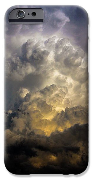 Nebraskasc iPhone 6s Case - Late Afternoon Nebraska Thunderstorms by NebraskaSC