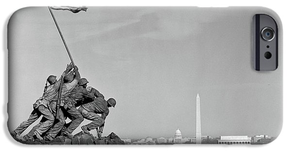 Capitol Building iPhone 6s Case - 1960s Marine Corps Monument by Vintage Images