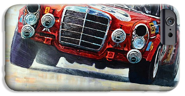 Pig iPhone 6s Case - 1971 Mercedes-benz Amg 300sel by Yuriy Shevchuk