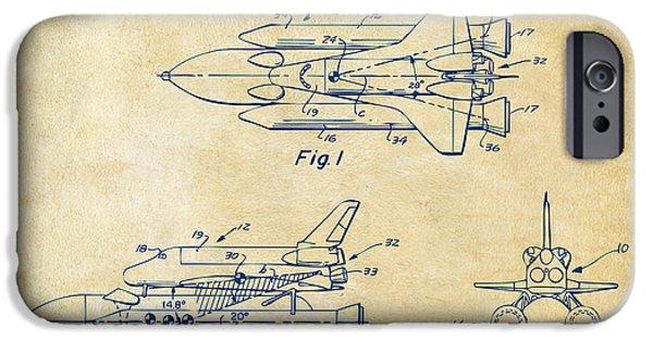 1975 Space Shuttle Patent - Vintage IPhone 6s Case