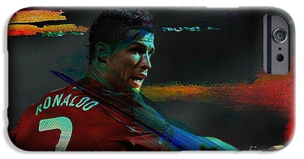 Cristiano Ronaldo IPhone 6s Case by Marvin Blaine