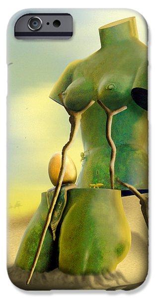 Buzzard iPhone 6s Case - Crutches by Mike McGlothlen