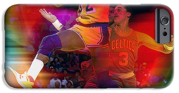 Magic Johnson IPhone 6s Case by Marvin Blaine