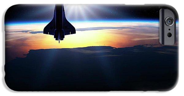 Space Shuttle In Orbit IPhone 6s Case