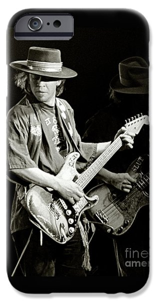 Rock And Roll iPhone 6s Case - Stevie Ray Vaughan 1984 by Chuck Spang