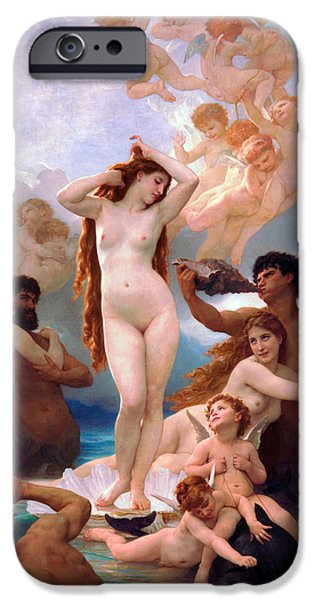 Venus Williams iPhone 6s Case - The Birth Of Venus by William-Adolphe Bouguereau