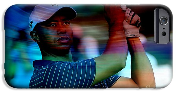 Tiger Woods IPhone 6s Case by Marvin Blaine