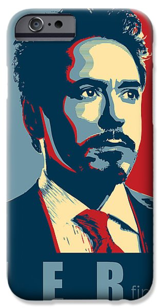 Ant iPhone 6s Case - Tony Stark by Fine Artist