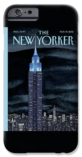Times Square iPhone 6s Case - New Yorker November 19th, 2012 by Mark Ulriksen