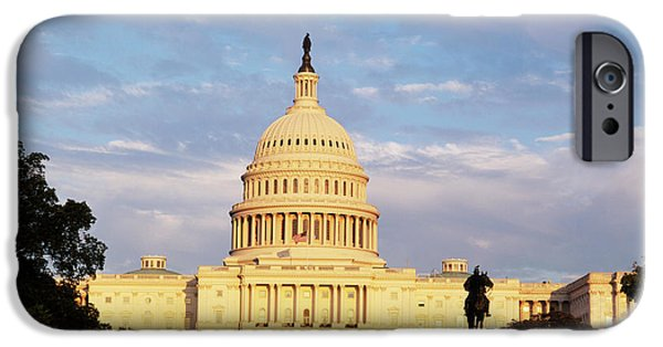 Capitol Building iPhone 6s Case - Usa, Washington Dc, Capitol Building by Walter Bibikow