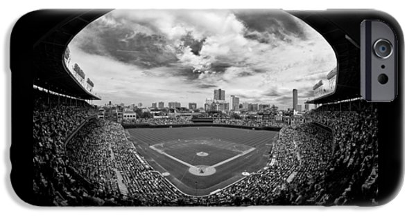 Wrigley Field  IPhone 6s Case by Greg Wyatt