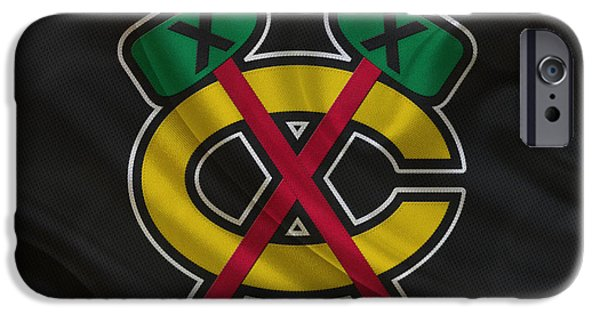 Chicago Blackhawks IPhone 6s Case by Joe Hamilton