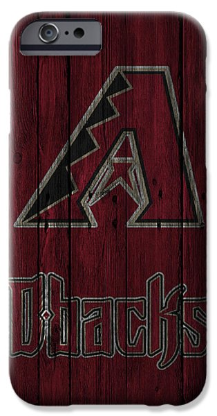 Diamondback iPhone 6s Case - Arizona Diamondbacks by Joe Hamilton