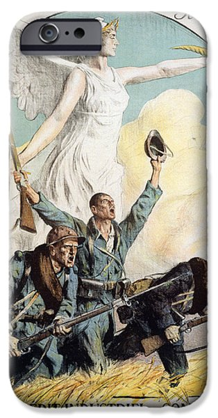 World War I French Poster IPhone Case by Granger