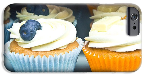 Blue Berry iPhone 6s Case - Cupcakes by Tom Gowanlock