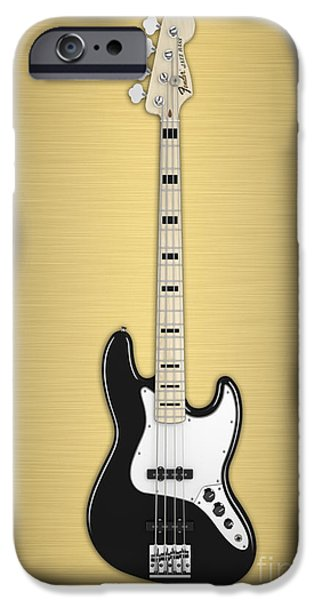 Fender Bass Guitar Collection IPhone 6s Case by Marvin Blaine