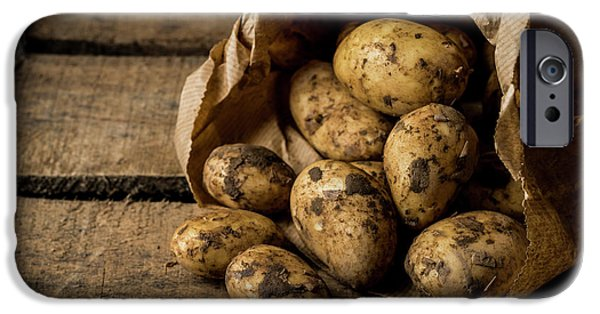 Fresh Potatoes IPhone 6s Case by Aberration Films Ltd