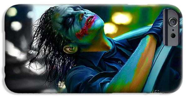 Heath Ledger IPhone 6s Case by Marvin Blaine