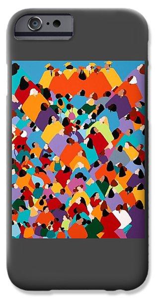 iPhone 6s Case - Powerfull Ywcagla by Synthia SAINT JAMES