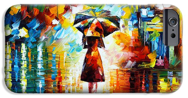 Magician iPhone 6s Case - Rain Princess by Leonid Afremov