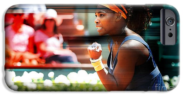 Serena Williams IPhone 6s Case by Marvin Blaine