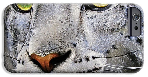 Snow Leopard IPhone 6s Case