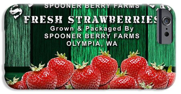 Strawberry Farm IPhone 6s Case