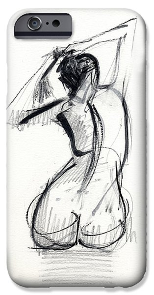 Nudes iPhone 6s Case - Rcnpaintings.com by Chris N Rohrbach