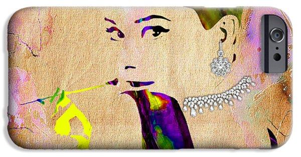 Audrey Hepburn Diamond Collection IPhone 6s Case