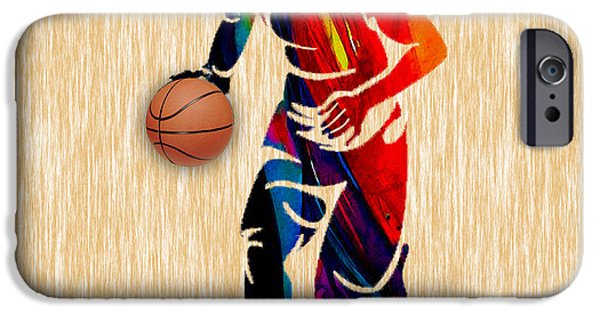 Basketball IPhone 6s Case by Marvin Blaine