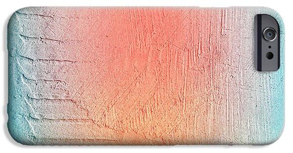 Space iPhone 6s Case - Grunge Retro Vintage Paper Texture by Leksustuss