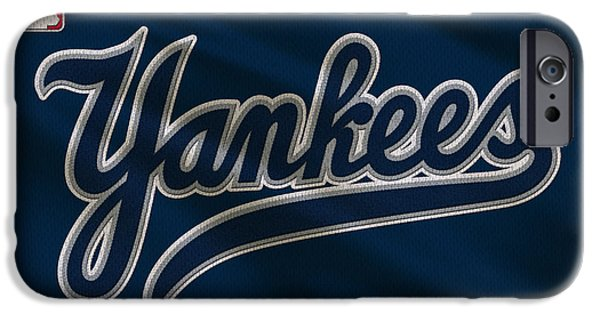 New York Yankees Uniform IPhone 6s Case by Joe Hamilton