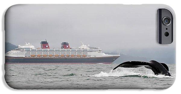 Cruise Ship iPhone 6s Case - Usa, Ak, Inside Passage by Trish Drury