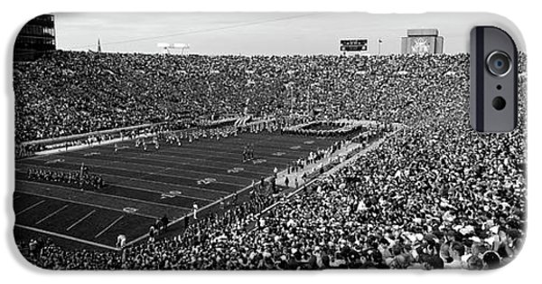 High Angle View Of A Football Stadium IPhone 6s Case by Panoramic Images