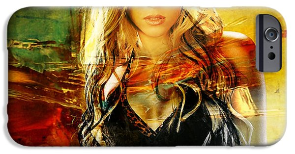 Shakira IPhone 6s Case by Marvin Blaine