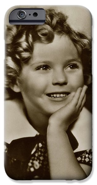 Shirley Temple iPhone 6s Case - Shirley Temple (1928 -2014), American by Mary Evans Picture Library